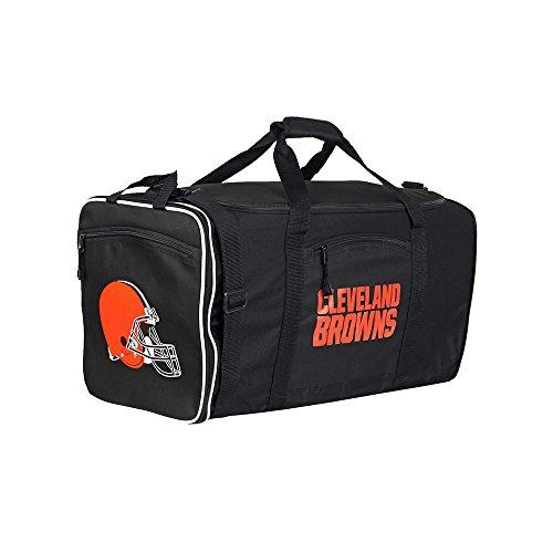 Amirshay, Inc. Cleveland Browns NFL Steal Duffel Bag (Black) by Amirshay, Inc.
