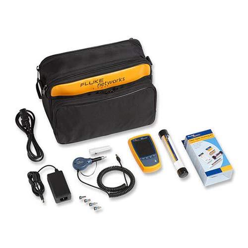 Fluke Fiber - Fluke Networks FI-525 Fiber Optic Inspection Camera, with Cleaning Supplies
