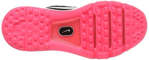 Nike Air Max 2017 GS, Zapatillas de Running Para Niños Rosa (Black/white/racer Pink/hot Punch)