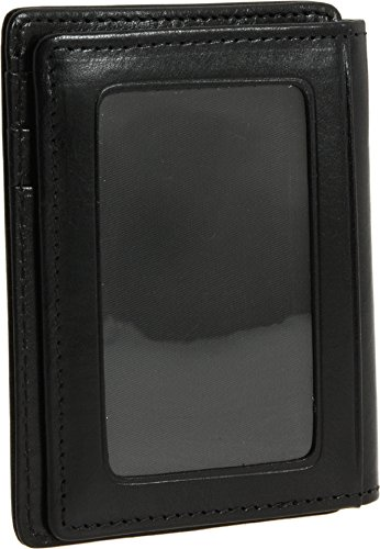 Bosca Old Leather Collection-Front Pocket Wallet, Black