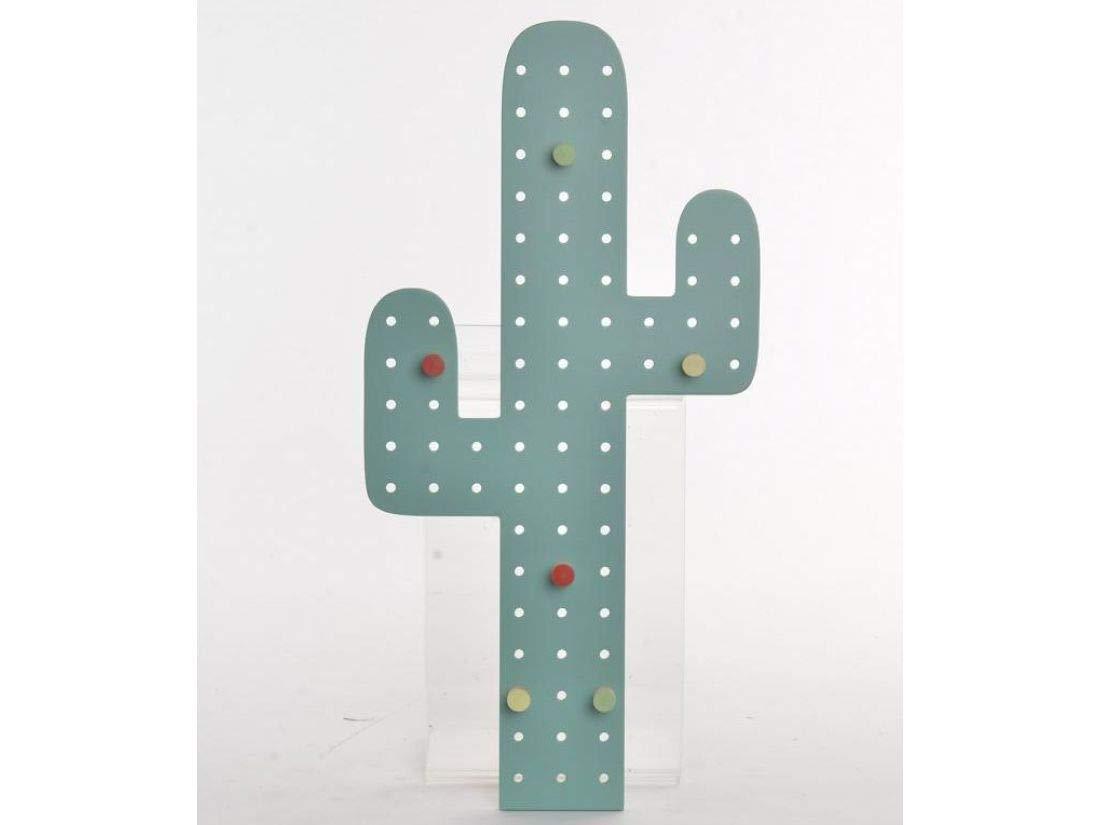 Item Int Perchero Pared Cactus Madera 24x1x48cm: Amazon.es ...