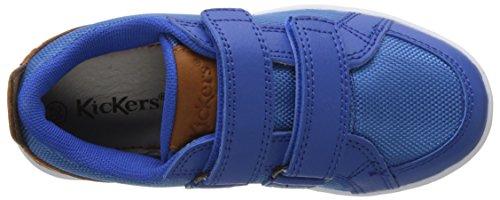 Kickers Greav - Botas Niños azul (Marine)