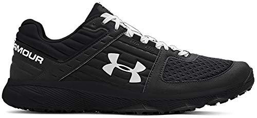 Under Armour Men's Yard Trainer Baseball Shoe, Black (004)/Black, 11.5