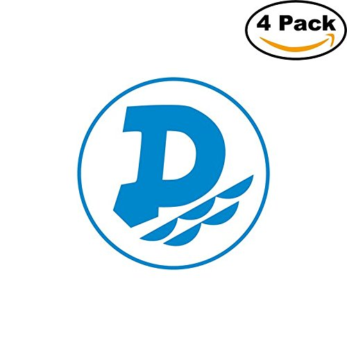fan products of Dunav Ruse Bulgaria Soccer Football Club FC 4 Stickers Car Bumper Window Sticker Decal 4X4