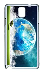coolest covers Earth Landscape Art PC White case/cover for Samsung Galaxy Note 3 N9000