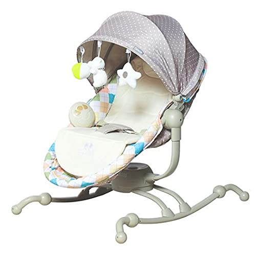 ZARACOS USA Comfort from Newborn to 18 Months Rocking Chair 1106- Brown