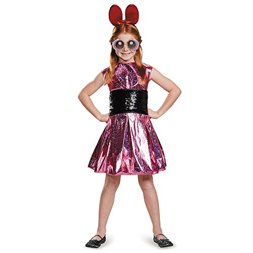 Blossom Deluxe Powerpuff Girls Cartoon Network Costume, (Him Powerpuff Costume)