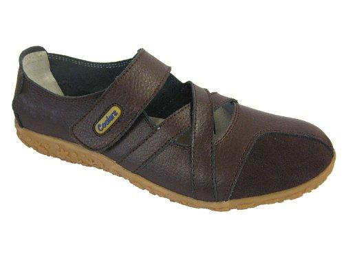 Style Plat Jane Brown RU Confortable Velcro Mary Trainers Nouveau 4 Mesdames Refroidisseurs Pratique Shoes x0tRIqnw