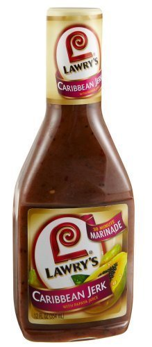 - Lawry's 30-Minute Marinade, Caribbean Jerk with Papaya Juice, 12-Ounce Bottles(Pack of 3) by Lawry's