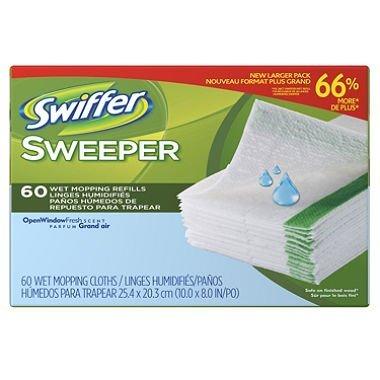 Swiffer Wet Jet Refills Open Window Fresh Scent Discounted Pack- 120 ct.