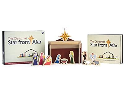 The Christmas Star from Afar Advent Calendar - Christmas Advent Nativity For Kids - Great Christian or Catholic Gift For Children by Star From Afar Llc