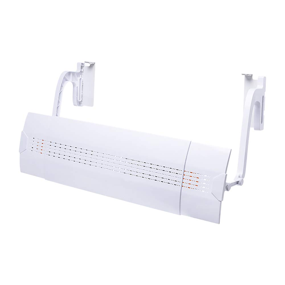 Anti Direct Blowing Air Conditioning Wind Deflector Retractable Baffle Adjustable Wall-Mounted Universal Shroud