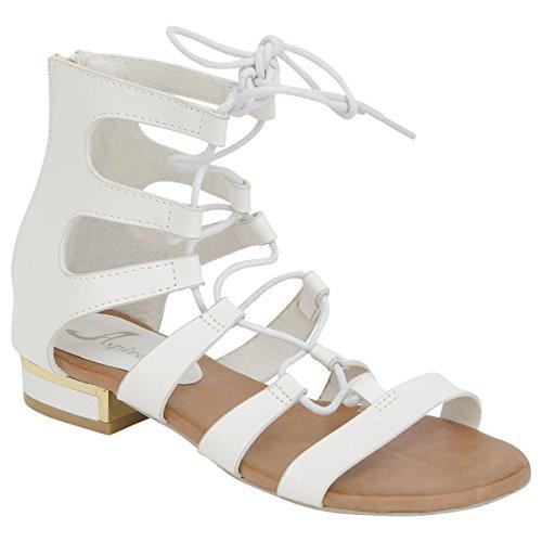 Blanc pour Sandales Blanc SheLikes Sandales femme Sandales SheLikes SheLikes pour femme ZdqU14Zw