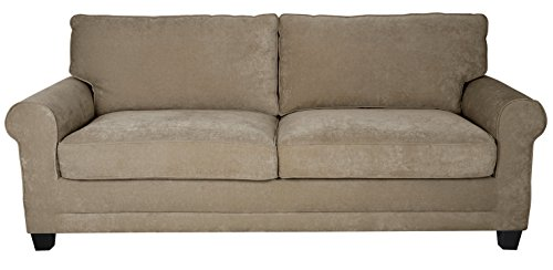 "Serta Deep Seating Copenhagen 61"" Loveseat in Beige -  - sofas-couches, living-room-furniture, living-room - 41oTFyCf0XL -"