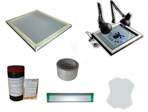 Screen Printing Plate Making Material Kit by Screen Printing Kit