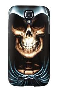 S0225 Skull Grim Reaper Case Cover for Samsung Galaxy S4 Kimberly Kurzendoerfer