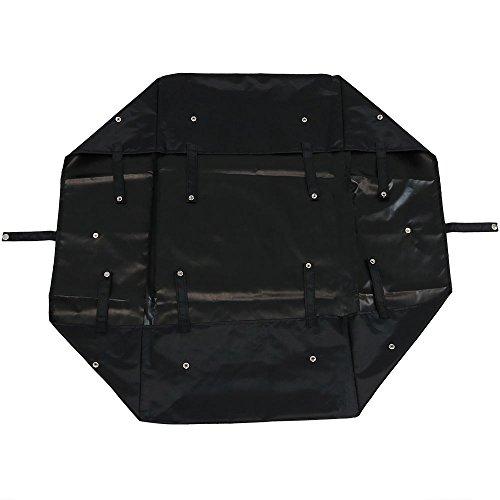 Sunnydaze Liner for Garden Utility Cart, Heavy-Duty Polyester, Black, Liner ONLY by Sunnydaze Decor