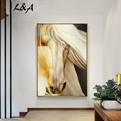 OULY Hand Painted Oil Painting Home Living Room Bedroom Paintings Abstract Decorative Background Wall