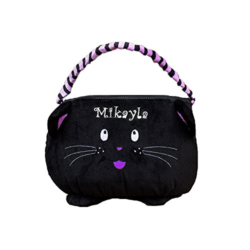 GiftsForYouNow Black Cat Personalized Trick or Treat