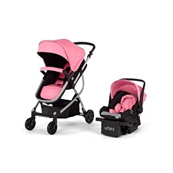 Amazon.com : Urbini Omni 3-in-1 Travel System, Convertible Pram ...