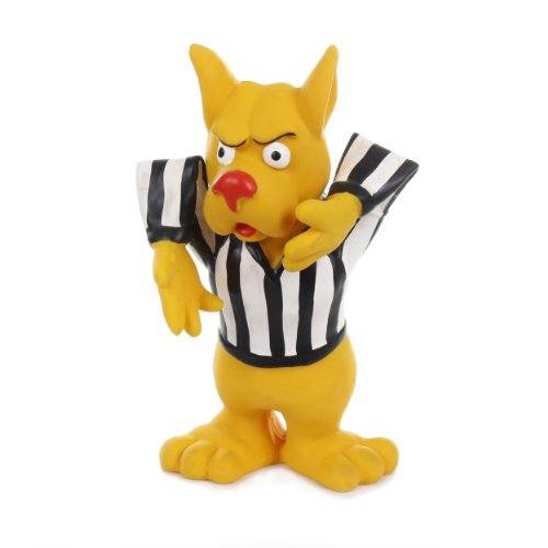 Knight Pet Latex Dog Football Referee Toy