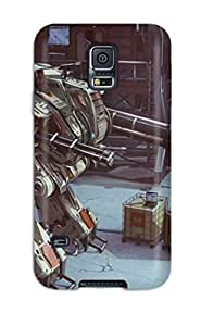 New Arrival Galaxy S5 Case Robot Case Cover