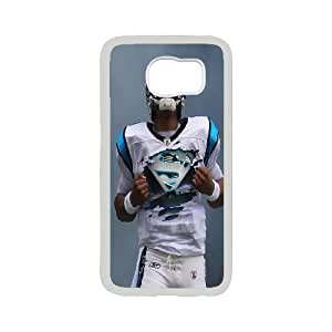 High Quality Phone Case For Samsung Galaxy S6 -The NFL stars Cam Newton from Carolina Panthers team custom design case cover -LiuWeiTing Store Case 16