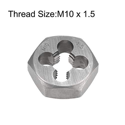6g Hex Rethreading Die M10 X 1.5 Pitch Steel Carbon Metric Hexagon Taper Pipe Die Accuracy Grade