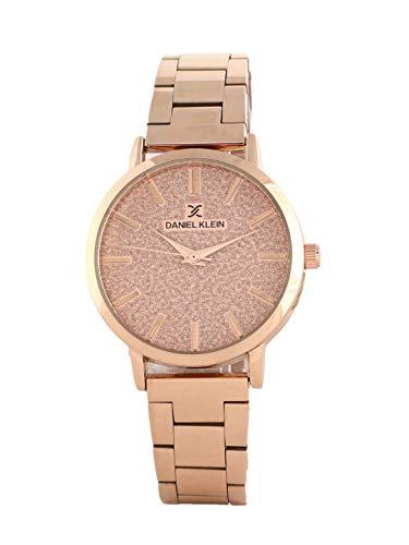 Daniel Klein Analog Rose Gold Dial Women's Watch-DK11800-4