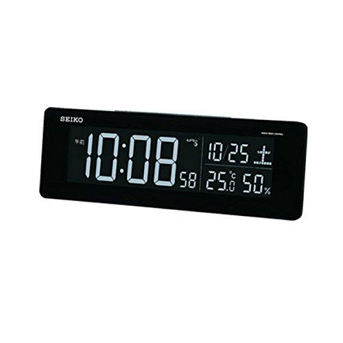 目覚まし時計 置き時計 電波時計 デジタル時計 セイコー (SEIKO) DL205K B01MQZZPGJ