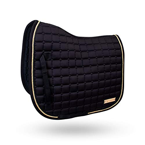 Kavallerie All Purpose 3D Mesh Pad - with Breathable Micro-Perforated Fabric and Elegant Quilted Design, Perfect for English Equestrian, Western Barrel Racing, Dressage, and Trail Riding