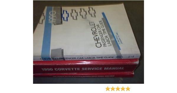 1990 corvette service manual gm amazon com books rh amazon com 1990 corvette owners manual 1990 corvette factory service manual