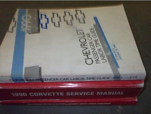 1990 corvette service manual gm amazon com books rh amazon com 1990 corvette service manual pdf 1990 corvette owners manual