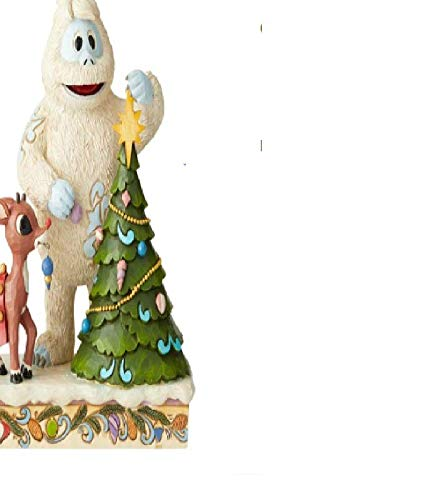 Enesco Rudolph Traditions by Jim Shore Rudolph The Red-Nosed Reindeer and Bumble with Tree Standard