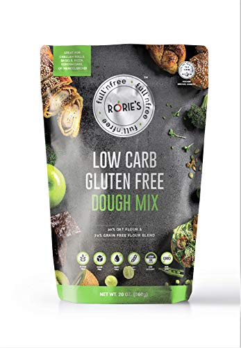Rorie#039s Low Carb Gluten Free Oat Dough Mix 20 oz Living Full N#039 Free