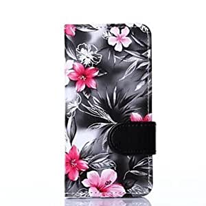 Beautiful Flowers Pattern Full Body Case for iPhone 6 (4.7 inch)(Assorted color)
