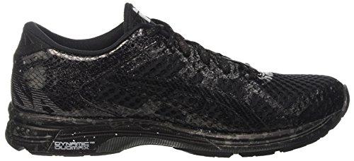 Asics Gel-Noosa Tri 11, Scarpe da Corsa Uomo Multicolore (Black/Black/Charcoal)