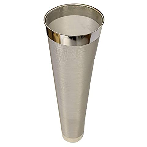 FastFerment Hop Filter Stainless Steel: Compatible with Our 7.9 and 14 Gallon Conical Fermenters. Beer Brewing, Wine…