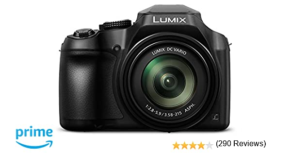 Panasonic Lumix DC-FZ82 - Cámara Bridge de 18.1 MP (Zoom de 60X ...