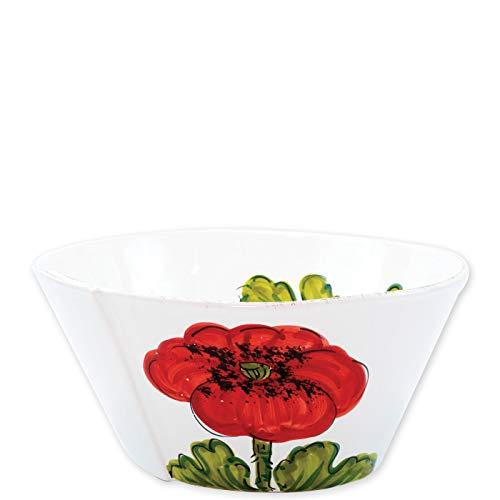 Vietri Lastra Poppy Large Stacking Serving Bowl ()