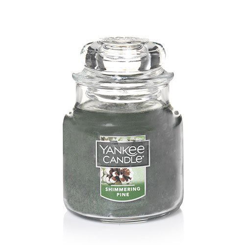 Yankee Candle Shimmering Pine Small Jar Candle,