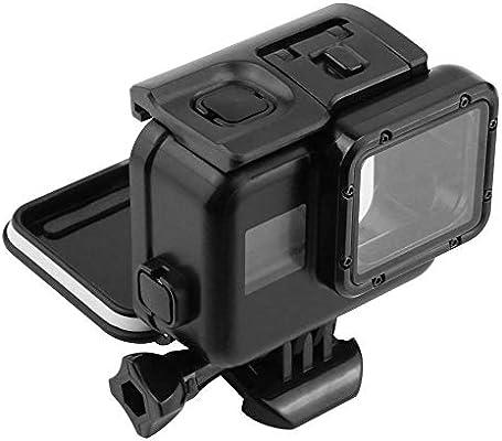 FOONEE Estuche montaje en marco, Reemplazo Funda impermeable Accesorios soporte resistentes al agua, Cámara digital Protectores de pantalla para cámara acción uso bajo el agua GoPro Hero 5/6/7: Amazon.es: Hogar