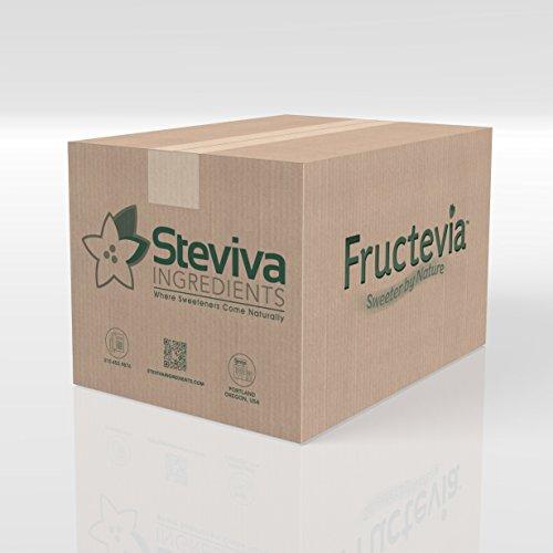 Fructevia - 55 lbs (25 kg) - Fructose, Inulin & Stevia Bl...