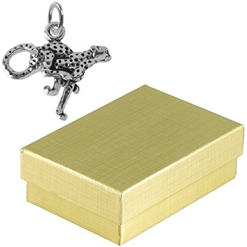 Gold Animals Charm Cat - 9