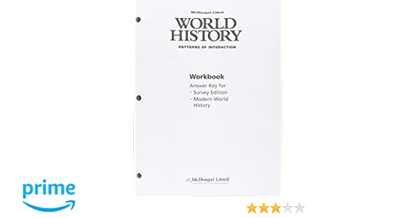 Counting Number worksheets Mcdougal Littell World History – World History Patterns of Interaction Worksheets