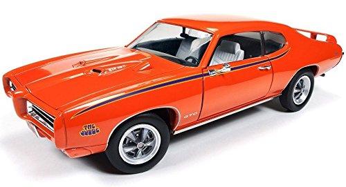 1969 Pontiac Gto Judge Orange Limited Edition To 1002Pc 1 18 By Autoworld Amm1058 By Pontiac