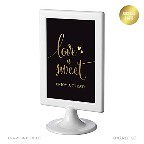 wedding framed party signs ink