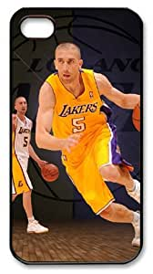 icasepersonalized Personalized Protective Case for iPhone 4/4S - Steve Blake, NBA Los Angeles Lakers