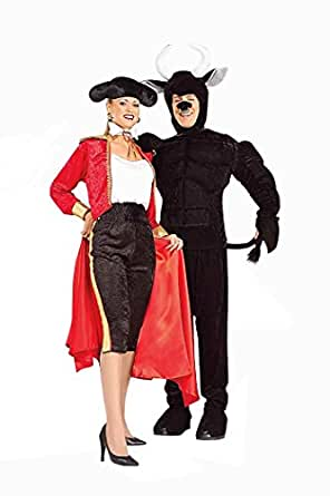 Forum Novelties Women's Totally Twosomes Lady Matador Costume, Multi, Standard