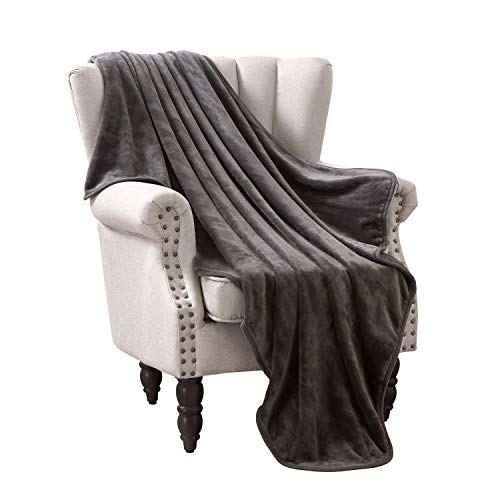 Exclusivo Mezcla Luxury Flannel Velvet Plush Throw Blanket - 50